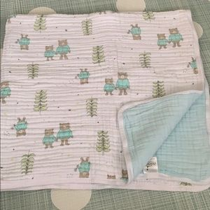 Aden and Anais 4 layer muslin blanket